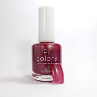 CinniumGlow.044 Cranberry Blue Sparkle Nail Polish