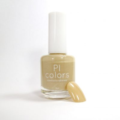 Elea Sun.002 Beige with Violet Shimmer Nail Polish