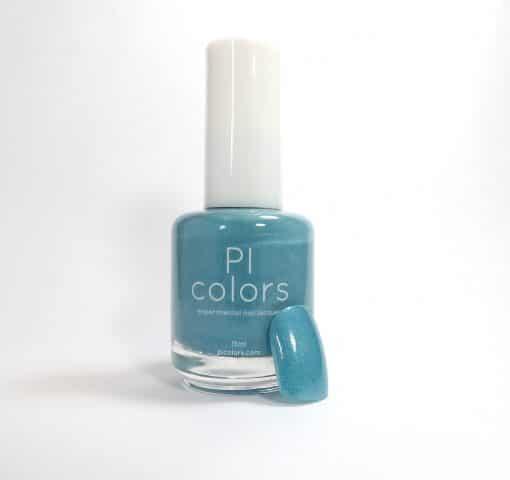 Palm Waters.017 Soft Green Blue Nail Polish