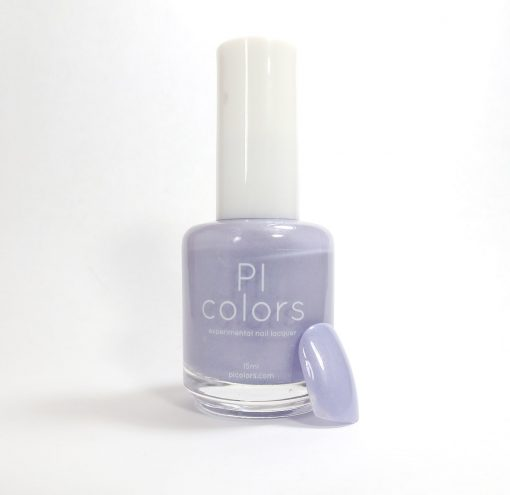 Stormshine.029 satin creme lilac purple nail polish
