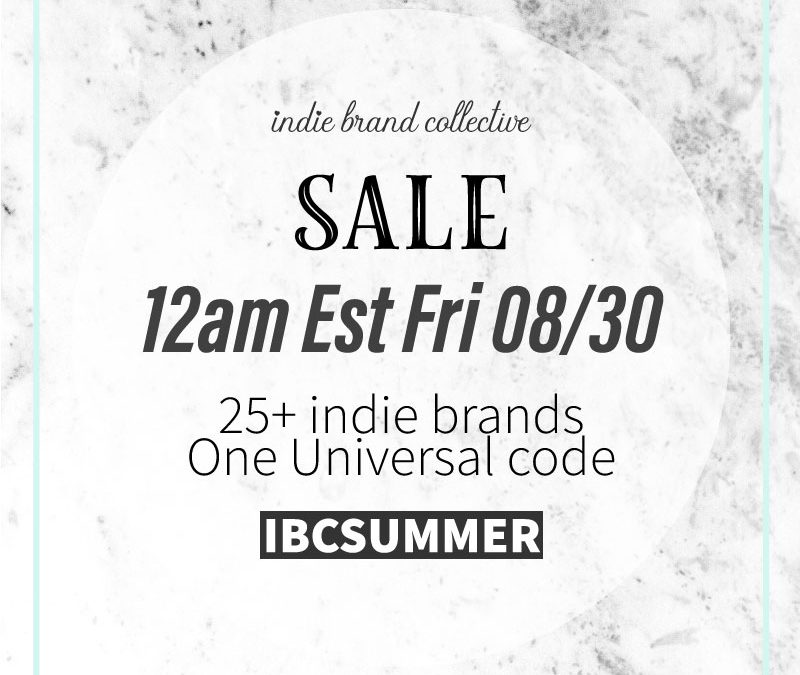 End of Summer Sale!!