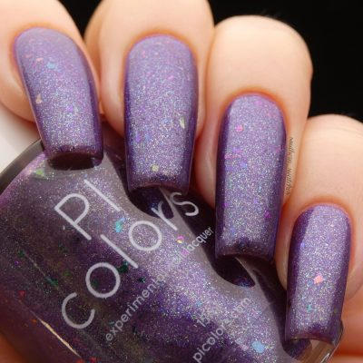 Arsu.111 Purple Nail Polish by PI Colors