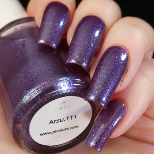 Arsu.111 Purple Nail Polish by PI Colors