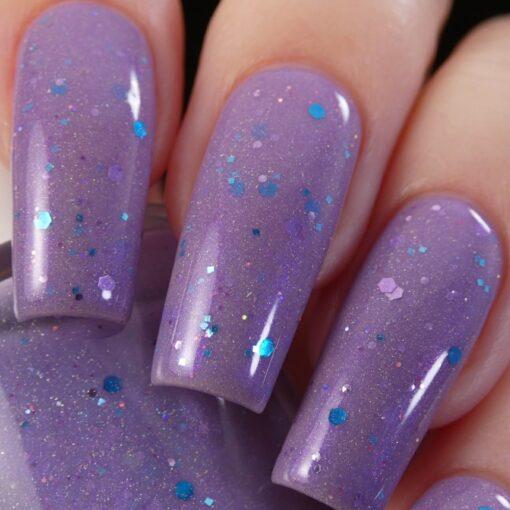 Mejiro McQueen.000 Lilac Purple Nail Polish by PI Colors