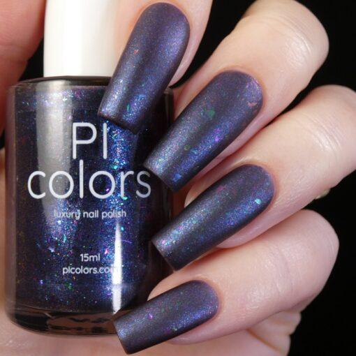 Silence Suzuka.000 Deep Blue Purple Nail Polish by PI Colors