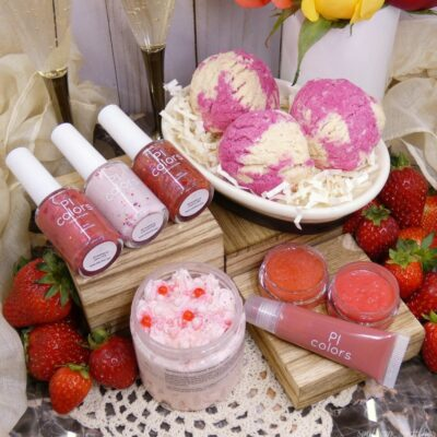 Strawberry & Hearts Collection by PI Colors